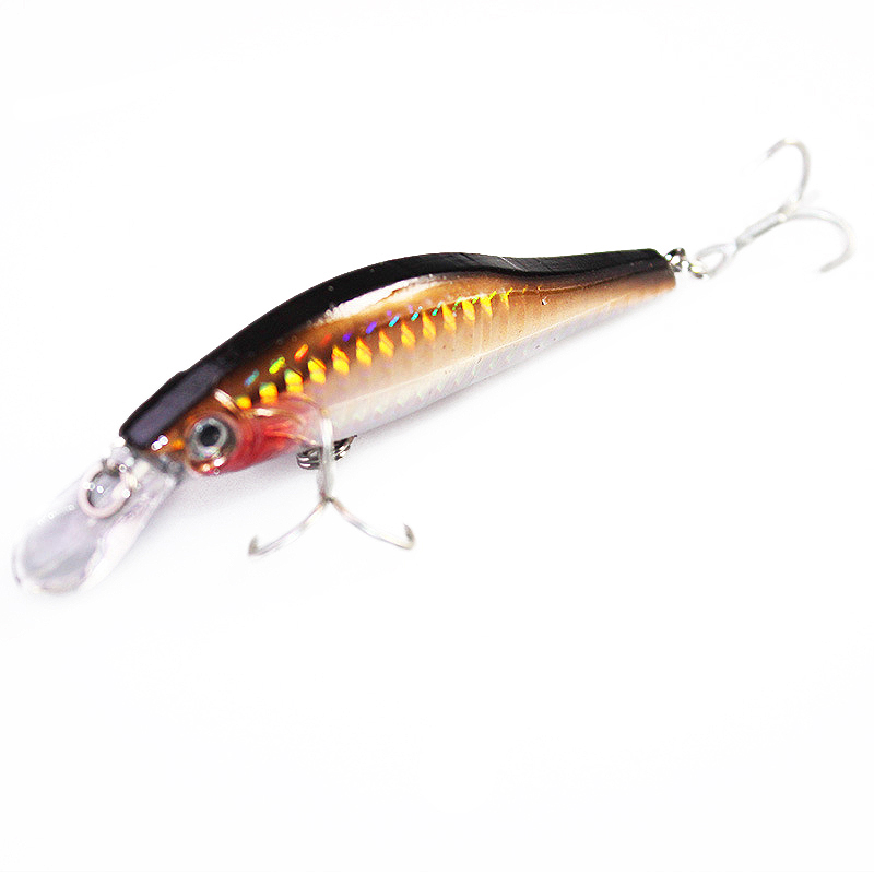 1PCS 9.5cm 11.6g Laser Minnow Fishing Lure BKK hooks fishing wobblers crankbait artificial japan hard bait swimbait wldslure 1pc 54g minnow sea fishing crankbait bass hard bait tuna lures wobbler trolling lure treble hook