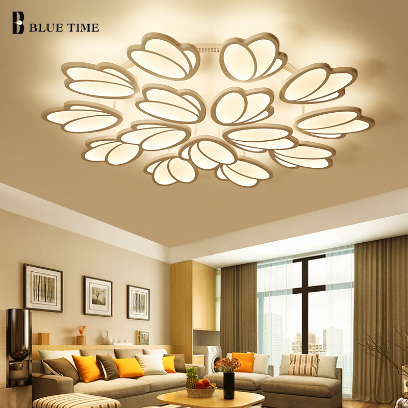 ᐊModern Acrylic Ceiling Chandelier Lights For Living room Bedroom ...