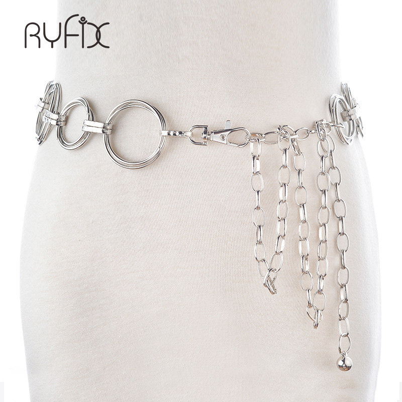 Tassel Circle Belly Chain Women Boho Bohemian Shimmy Belt Dress Waist Belt Chain Gypsy Turkish Metal Dangle Body Jewelry BL245