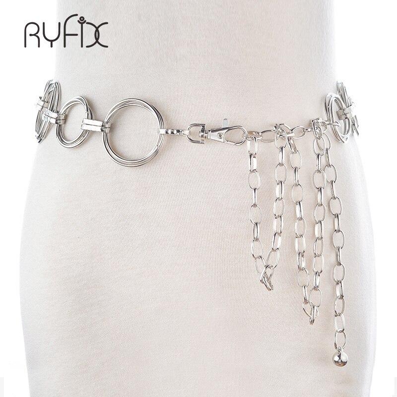 Tassel Circle Belly Chain Women Boho Bohemian Shimmy   Belt   Dress Waist   Belt   Chain Gypsy Turkish Metal Dangle Body Jewelry BL245