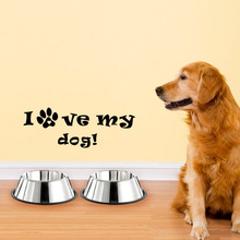 Buy dog love quotes and get free shipping on AliExpress com