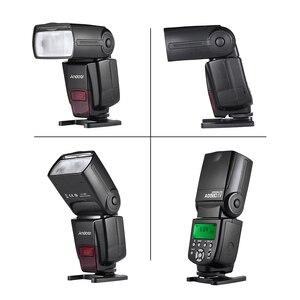 Image 3 - Andoer AD560 IV Pro 2.4G Kablosuz on kamera Slave Hız lite Flaş Işığı GN50 Flaş Tetik Renk Filtreleri dağınık Sıcak Ayakkabı Dağı