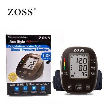 Автоматический тонометр ZOSS, сопровождение на русском языке 3