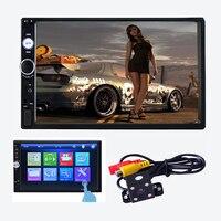 NEW 2 din car radio 7 HD Player MP5 Touch Screen Digital Display Bluetooth Multimedia USB 2din Autoradio Car Backup Monitor