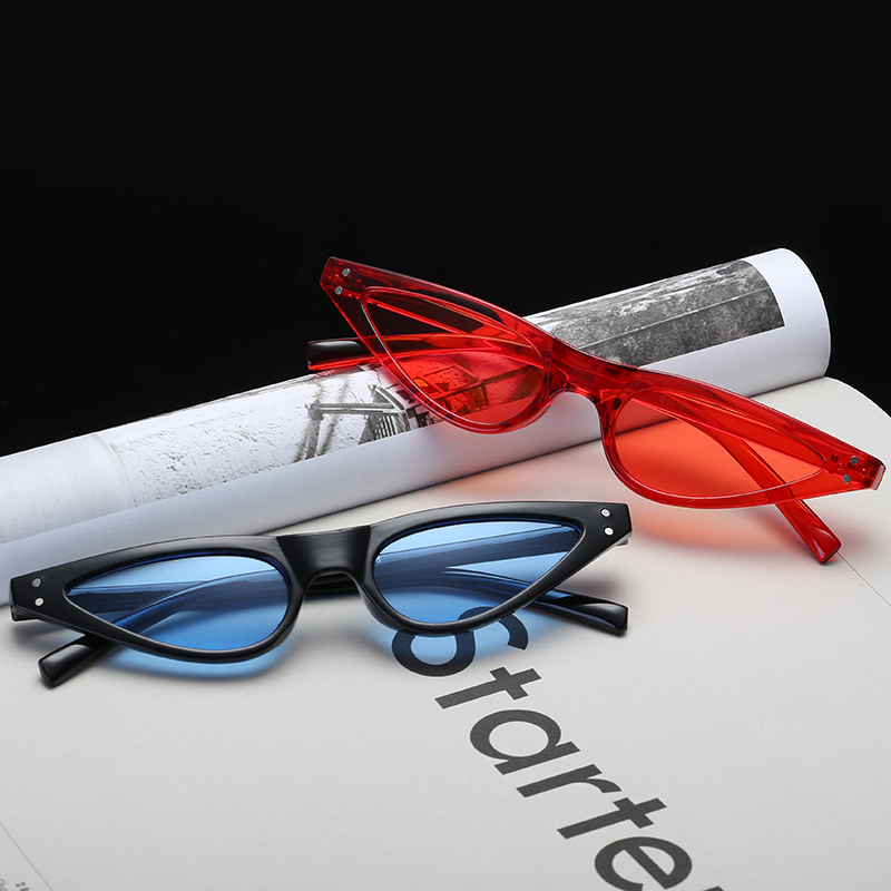 789ca36f25 women sunglasses small sunglasses glasses womens red sunglases 2018  festival sunglass yellow cateye sun glasses