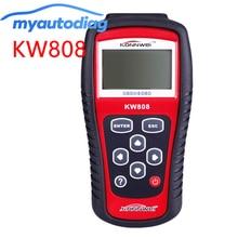 цена на KONNWEI KW808 OBD2 OBDII EOBD Auto Scanner Diagnostic Code Read CAN Engine Reset Tool Same as MS509 Professional Car Tester OBD