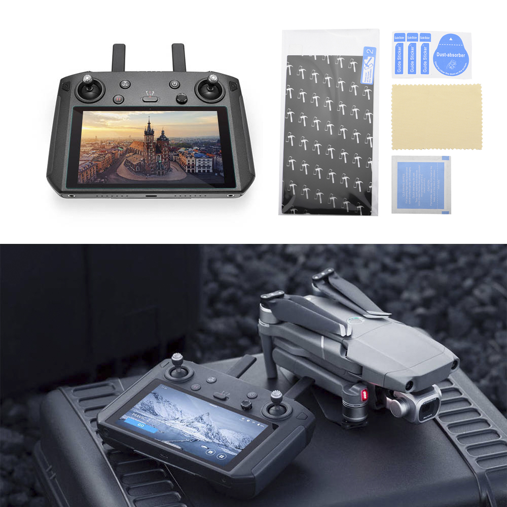 Screen Protector For DJI Smart Controller Remote Control TPU Explosion-proof Film Membrane Mavic 2 Pro Zoom Drone Accessories