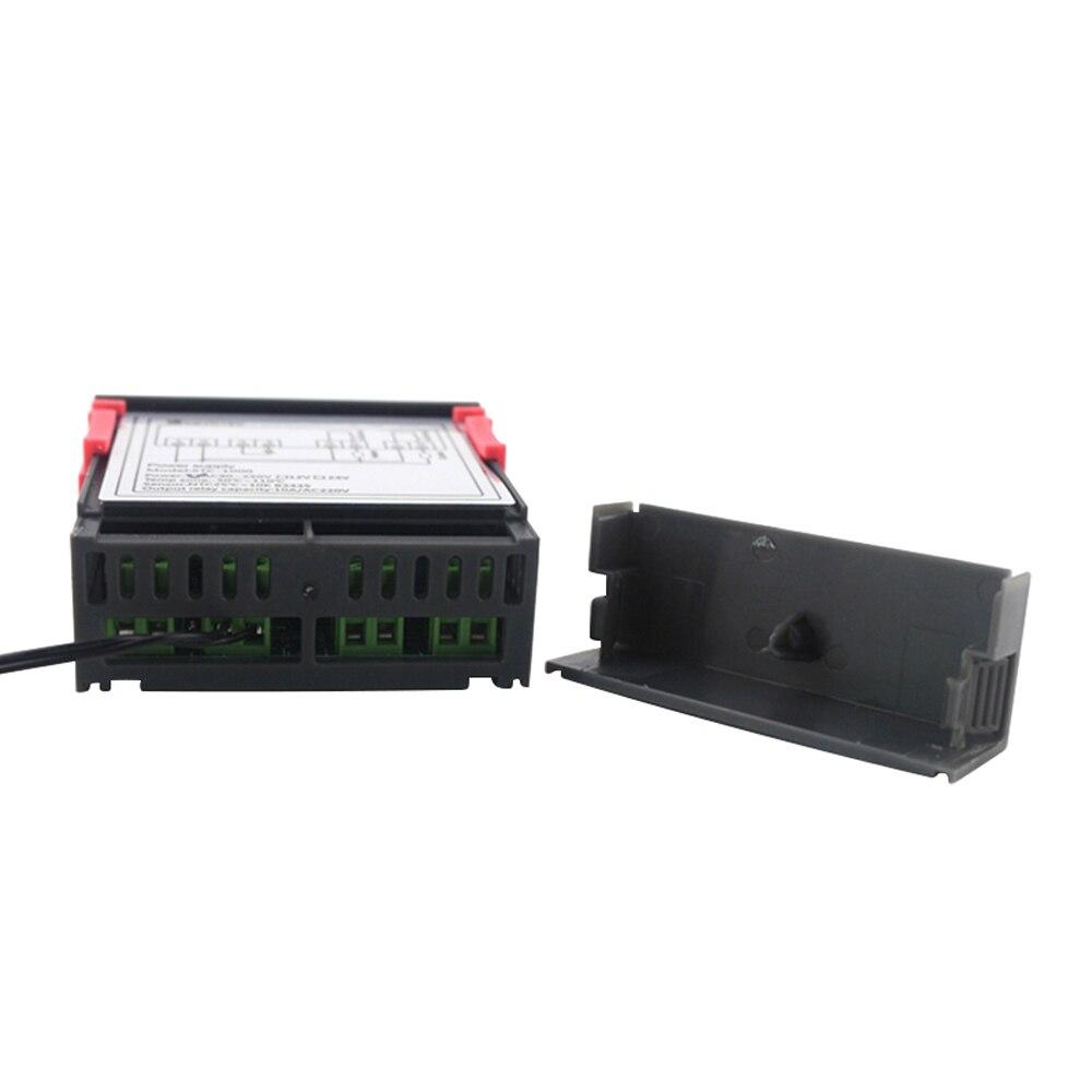 Цифровой ЖК-контроллер температуры термостат STC-1000 1 м NTC датчик Термостат Регулятор Нагреватель Охладитель два релейного выхода
