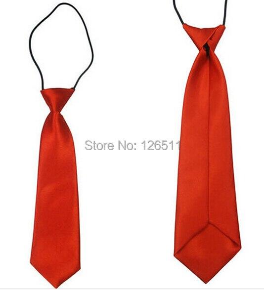 Jungen Krawatte Jungen Zubehör Junge Toddle Krawatte Kinder Baby Schule Boy Hochzeit Krawatte Elastische Einfarbig Satin