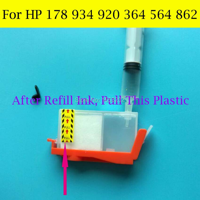 For HP 178 920 934 364 564 862 Refill Ink 3
