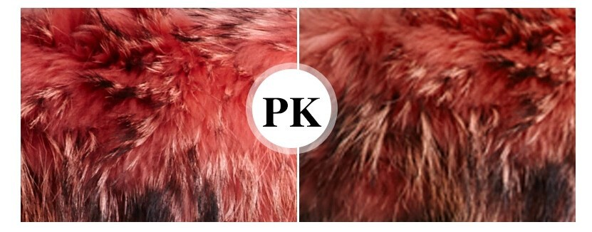 Factory wholesale price Women's Vintage Retro Fur Hooded Military Parka Jacket Coat with pink lined and collar fur mr 51