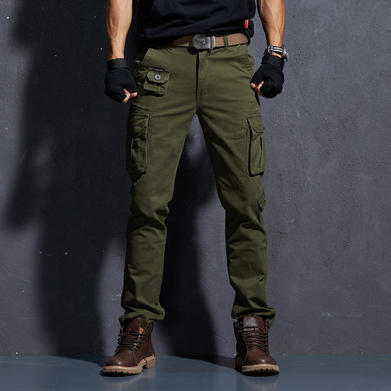 VOMINT Casual Pants Men Summer Army Military Style Trousers Men's Tactical Cargo Pants Male Lightweight Waterproof Trousers