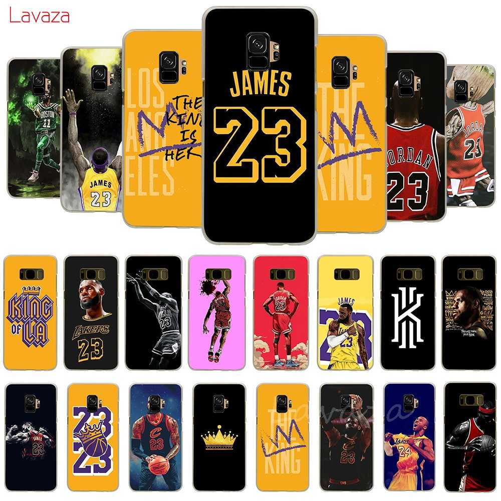 Lavaza LeBron James Hard Phone Case for Samsung Galaxy A50 A70 A6 A8 A9 2018 S8 S9 S10 Plus Cover