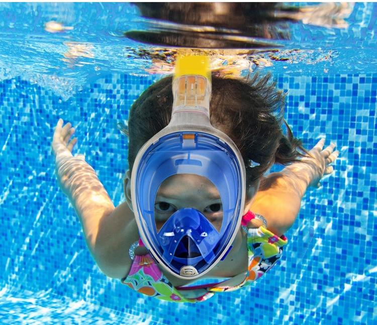 full face diving mask