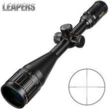 LEAPERS 4 16X50 тактический оптический прицел красный зеленый синий точка боковая иллюминация Retical охотничий прицел Scope