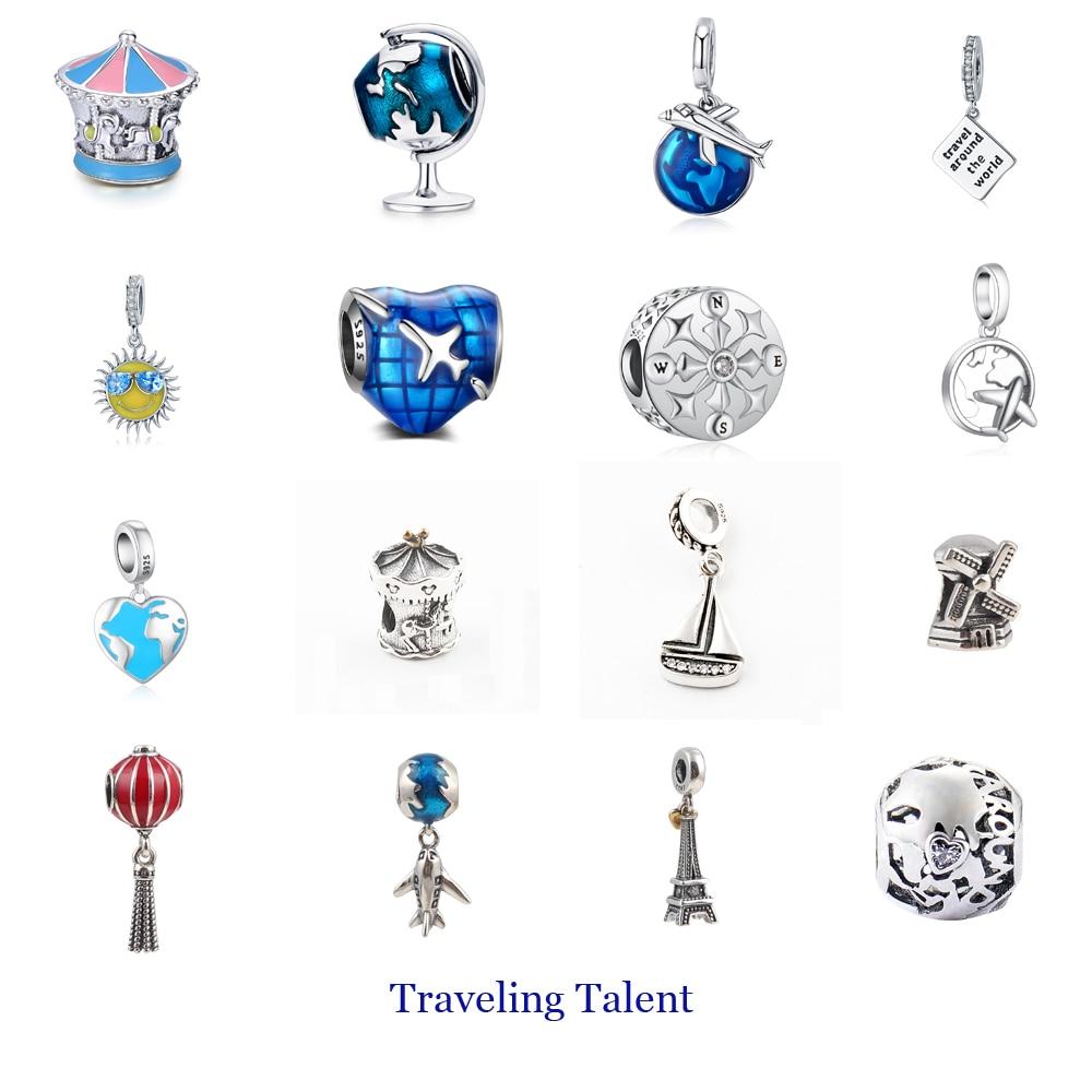 pandora charms travel