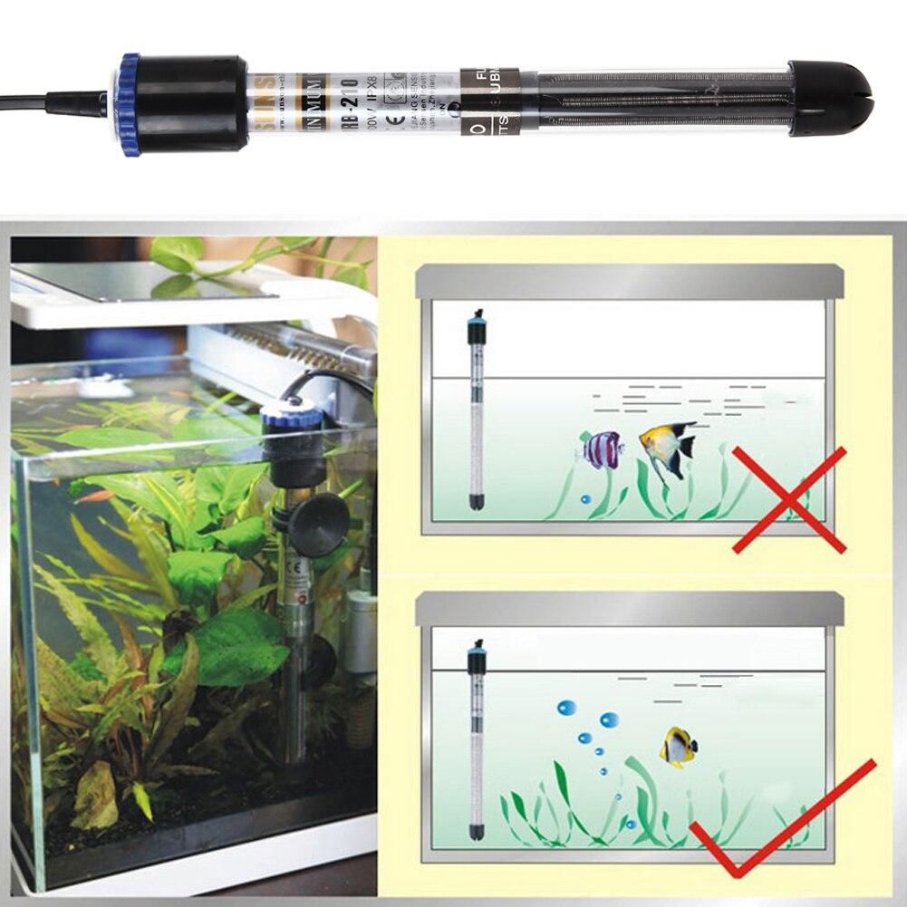Submersible aquarium fish tank water heater - Aliexpress Com Buy 100w 200w 300w 500w Aquarium Submersible Water Heater Fish Tank Adjustable Submersible Heaters For Aquarium Glass Fish Tank From