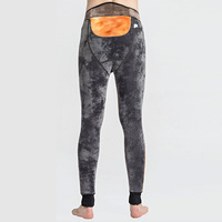 600g Protect Cold Winter Men's Tights Merino Wool Long Johns Thermal Underwear Pants Thermal Underwear Mens Kneepad Leggings
