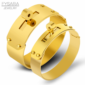 61020655bdcc FYSARA 21mm 12mm gran botón pulsera y brazalete para los hombres de las  mujeres de