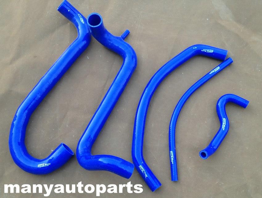 Silicone Radiator Heater Blue Hoses Kit For FORD AU FALCON 4.9L V8 INC XR8 98-02
