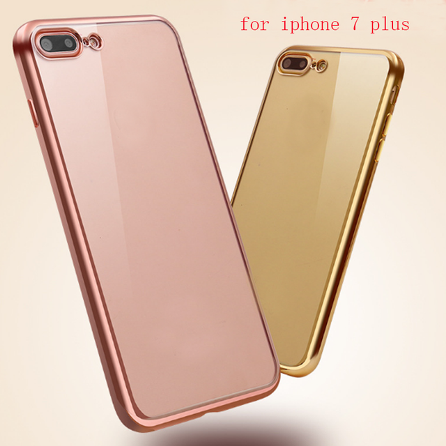 coque iphone 7 silicone rose gold
