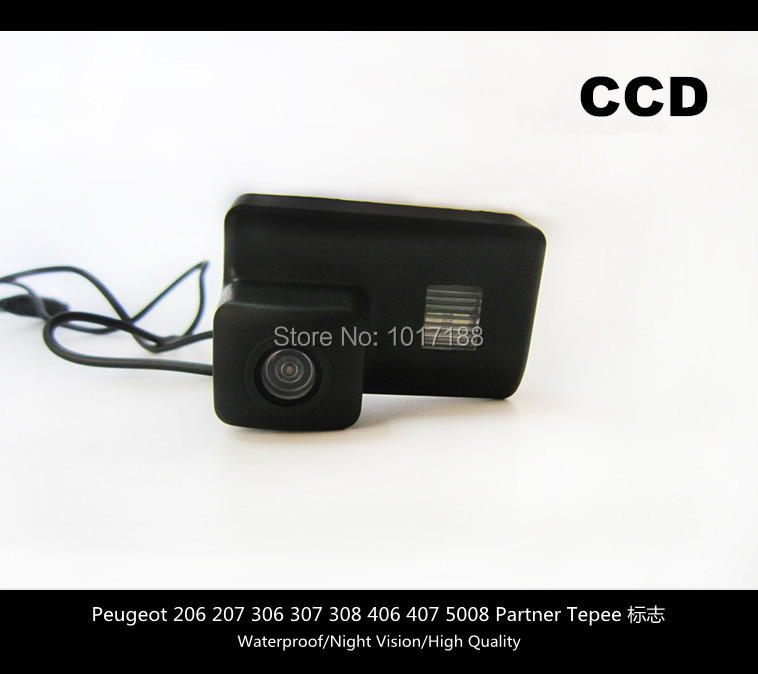 HD Car Rear View Parking CCD font b Camera b font For Peugeot 206 207 306