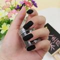 Brillo de uñas de Moda de Uñas Decoración Fuzzy Terciopelo Flocado Nail Powder Para Uñas L4B147