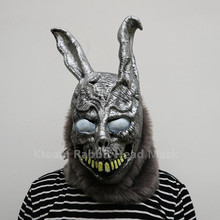 Free shipping Halloween Party Cosplay Donnie Darko Rabbit Mask Scary Animal Full Head Zombie Devil Skull Horror Toys