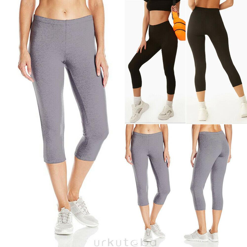 @1  Повседневные женские брюки йога для бега спортивные спортивные эластичные 7 очков йога леггинсы ★
