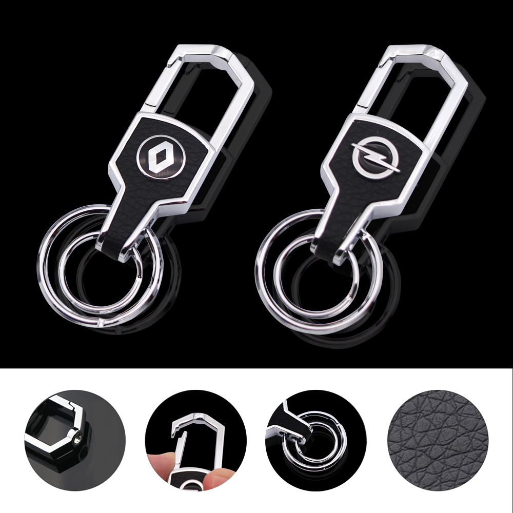 Metal <font><b>Car</b></font>-<font><b>Styling</b></font> <font><b>Keychain</b></font> <font><b>Car</b></font> Key Ring <font><b>Car</b></font> key chain Holder Housekeeper <font><b>For</b></font> Nissan <font><b>Bmw</b></font> Honda Skoda VW KIA Hyundai Toyota Opel image
