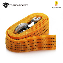 3 Tonnes 3M Car Emergen Iron Hooks Tow Rope Fluorescent Color Tow Rope For Car Truck Camping Pulling Rope Wrought