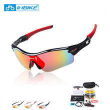 INBIKE Polarized Cycling Glasses 2017 Men Sports UV400 Cycling Sunglasses Outdoor Eyewear