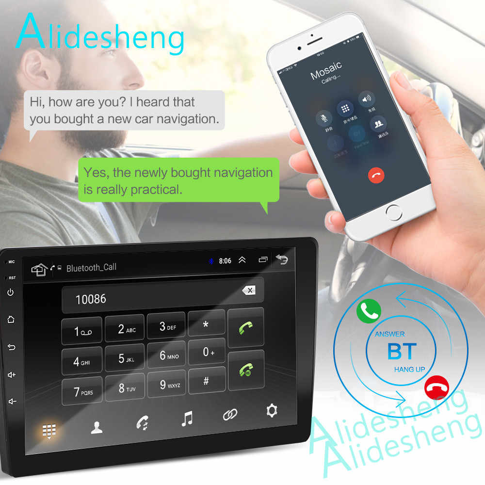 2.5D 2Din Android 8.1GO samochodowy odtwarzacz dvd odtwarzacz multimedialny GPS dla Ford Focus EXI MT MK2 MK3 2004-2009 2010 2011 radio nawigacyjne BT WiFi