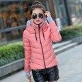 Mulheres Jaqueta de Inverno Parka Engrossar Outerwear Projeto Fêmea Para Baixo Casacos Com Capuz de Algodão-acolchoado Plus Size MZ709 Chaqueta Invierno