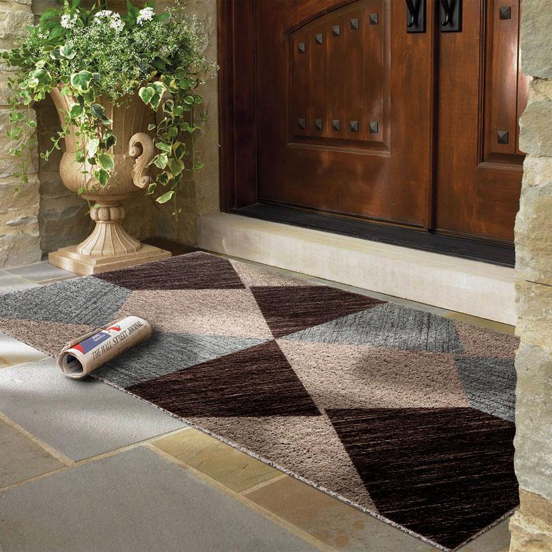 современный пвх придверный коврик для улицы вход пол коврик утолщенный дверной коврик с приветственной надписью для домашнего декора боль
