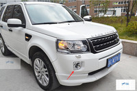 For Land Rover Freelander 2 2013 2015 Chrome Front And Rear Tail Fog Light Lamp Cover