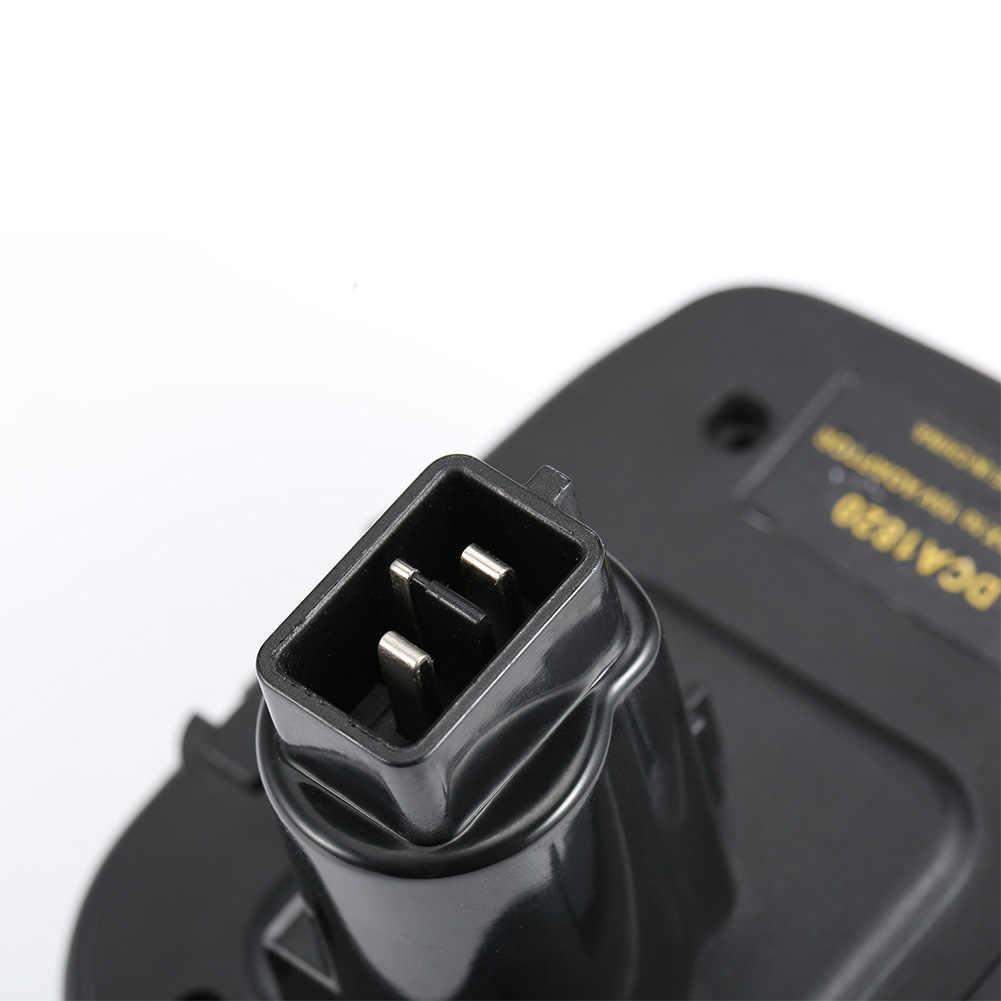 DCA1820 18V/20V batería de litio convertir a níquel eléctrico y cargador herramientas adaptador para Dewalt baterías CLH @ 8