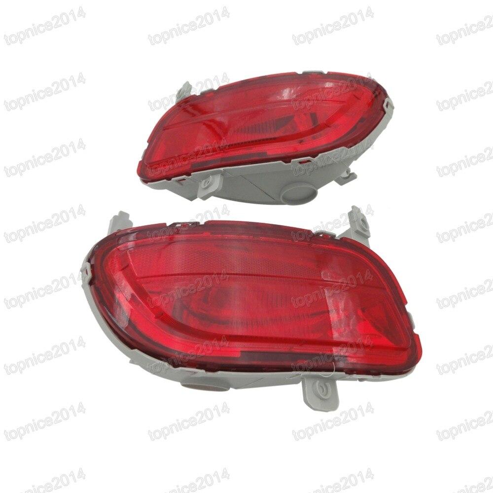 1Pair Car Tail Կարմիր ռեֆլեկտոր Դեկորատիվ - Ավտոմեքենայի լույսեր - Լուսանկար 3