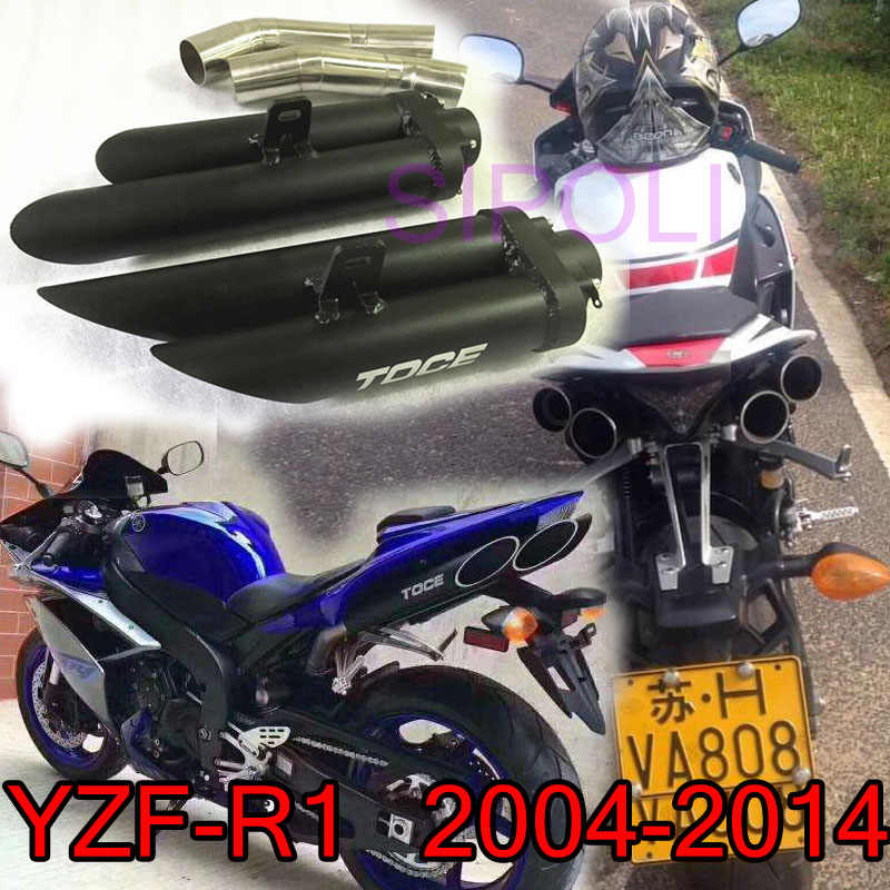 Detail Feedback Questions about YZF R1 Slip on Motorcycle