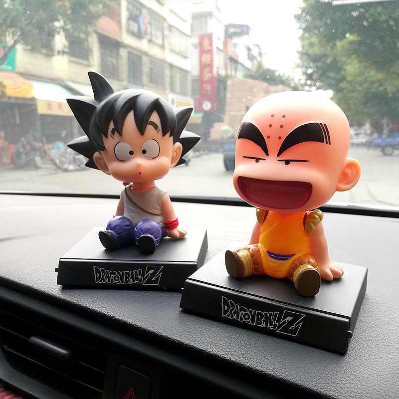 Аниме Dragon Ball Z Супер герой Гоку какаротто криллин фигурки экшн-игрушки держатель поплавок наклейка на голову украшение автомобиля