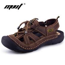 MVVT Synthetic Men Sandals Cool Comfort Shoes Men Beach Sandals Classics Non-slip Outdoor Men Sandals Summer Shoes