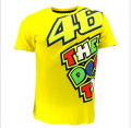 Moto GP Valentino Rossi VR46 Yellow 46 The Doctor T-Shirt Racing Sport Motor T shirt  ni8m