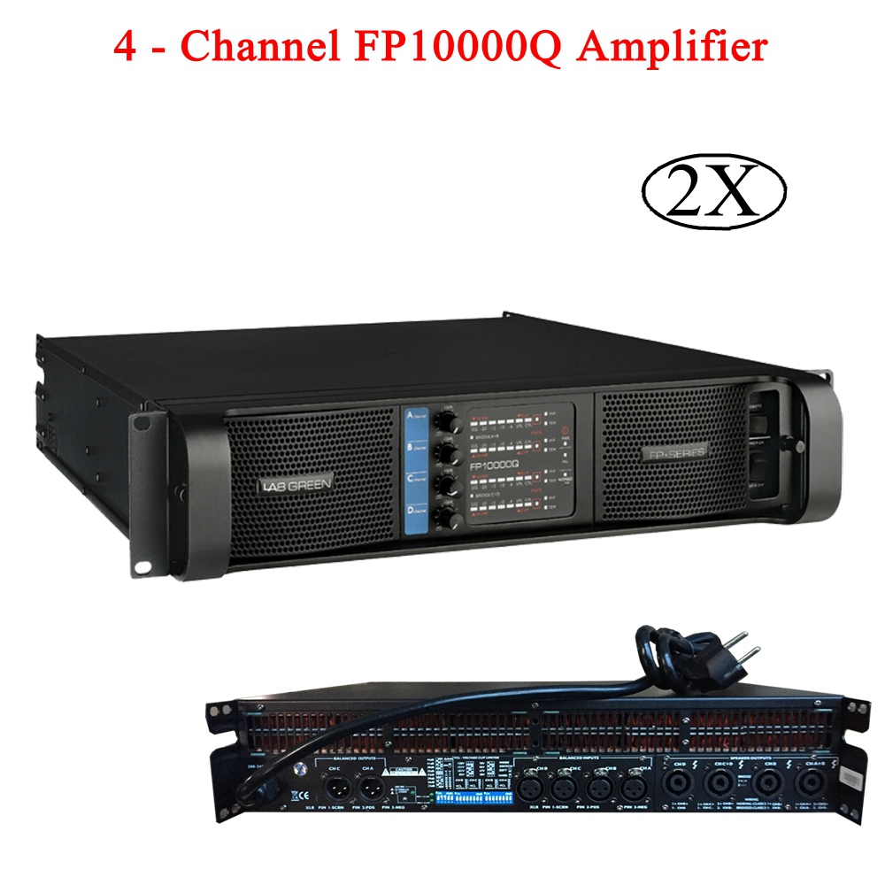 Scène professionnelle DJ équipement amplificateur de puissance Subwoofer puissance 4 canaux amplificateur 4X1300W FP10000Q ligne amplificateur Audio