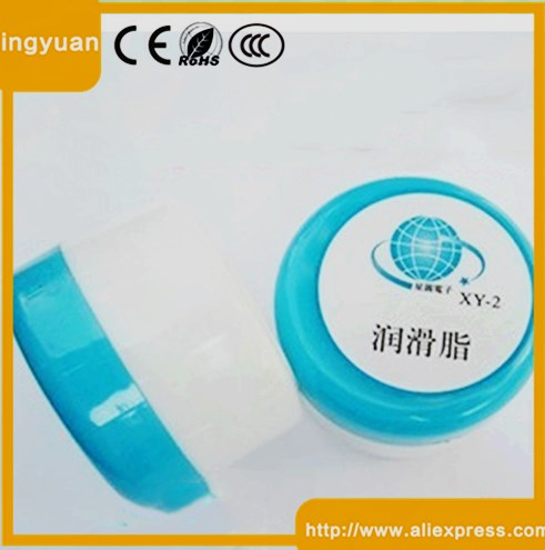 New XY-2 White Grease Lubricated Plastic Gear Machinery And Equipment CPU 50g