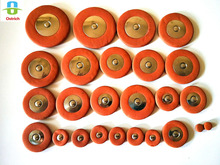 25 pcs Professional Leather Tenor Saxophone Pads Orange Sax Pads Replacement Woodwind Musical Instruments Parts & Accessories strength 3 sax saxophone musical theme saxophone pads classical sax reeds tenor sax popular accessories instrumentos musicais
