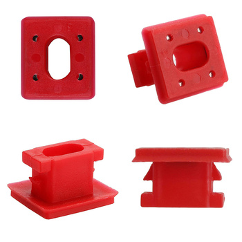 20pcs for BMW E46 E65/E66 E83N Dashboard Dash Trim Strip Clips Red Insert Grommets Interior Panel Fixing Buckles Car Accessories image