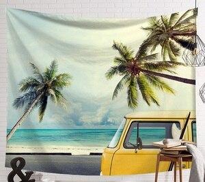 Image 2 - CAMMITEVER tabla de Surf para deportes de playa, verano, tapetes para colgar en la pared, cielo azul, decorativos