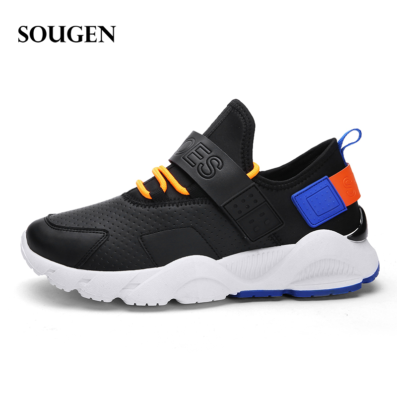 Male Shoes Adult Ons Men Human Race First Layer Winter Sneakers for Men Fashion 2019 Mens Canvas Shoes Sneakers Platform 40