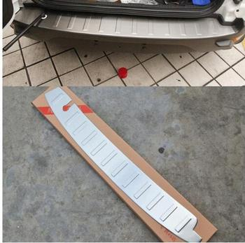 high quality 304 Stainless Steel Rear bumper Protector Sill fit for Ford Ecosport 2013-2016 Car styling