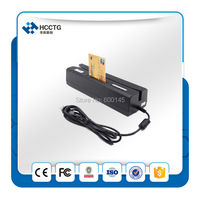 Magstripe Card Reader +RFID.IC Chip Card Reader writer +RFID Smart Card reader HCC80 with USB interface